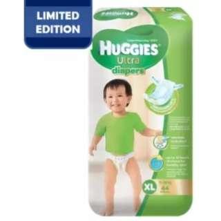 Huggies Ultra Diapers XL44 Super Jumbo (3 Pack)