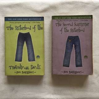 The Sisterhood of the Traveling Pants book pair by Ann Brashares 📚 | 📖 B13