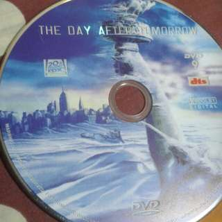 DVD  ENGLISH MOVIE  The Day After Tomorrow After climatologist Jack Hall (Dennis Quaid) is largely ignored by U.N. officials when presenting his environmental concerns, his research proves true when