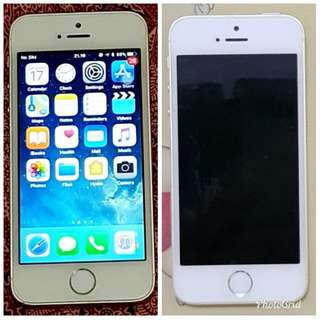 For Sale Preloved Iphone 5S 32GB Gold