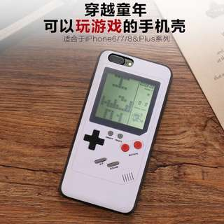 Iphone 7/8 gameboy version case ( READY STOCK)
