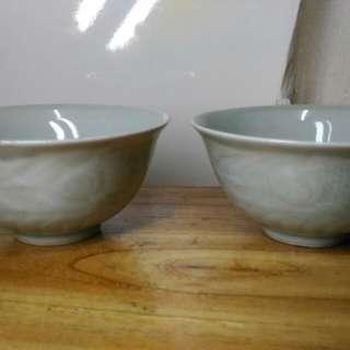 舊中國瓷碗