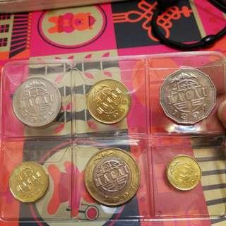 澳門硬幣,新淨有光