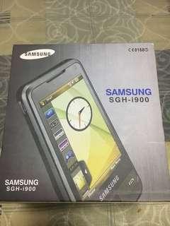 Samsung i900 new and original full box pack
