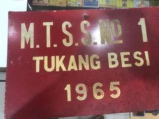 Vintage License