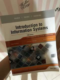 Introduction to Information System (wiley)