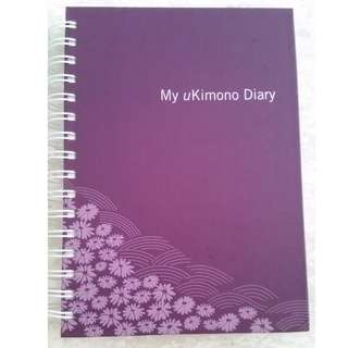 BN Osim SHE uKimono Diary Purple Notebook Single Line Note Book