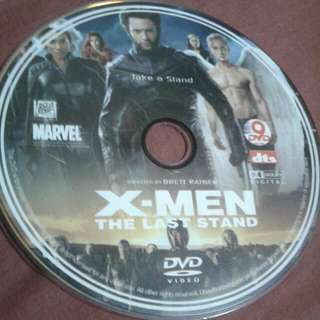 DVD  ENGLISH MOVIE  X MEN THE LAST STAND The discovery of a cure for mutations leads to a turning point for Mutants (Hugh Jackman, Halle Berry, Famke Janssen, Anna Paquin, Rebecca Romijn, Kelsey Grammer). s