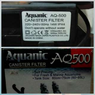 canister filter tank size 60~75cm 60~85L