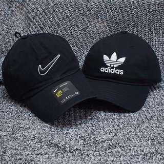 New/ adidas nike logo cap 帽