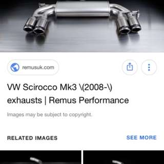 Remus Quad Exhaust (Decatted)