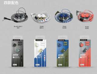 Urbanears reimers 運動耳機 earphone sports 防水 線控 andriod ios