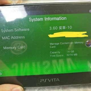 Hacked PS Vita 1000