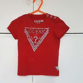 Orig Guess red shirt