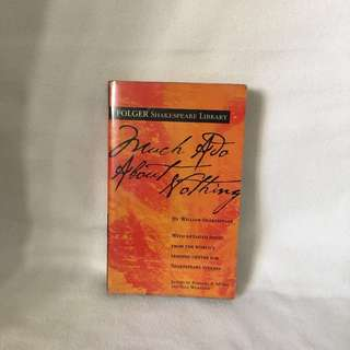 Much Ado About Nothing by William Shakspeare   Folgers Library 📚  📖 B36
