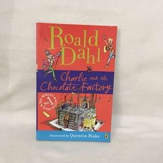 Charlie and the Chocolate Factory by Ronald Dahl 📚 | 📖 B33