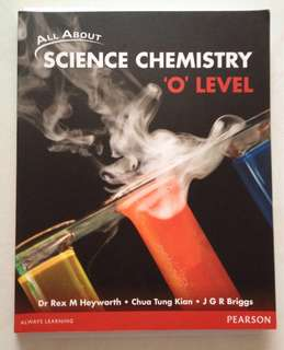 All About Science Chemistry 'O' Level Textbook