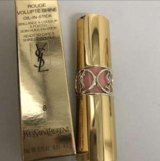 (全新)YSL Rouge Volupte Shine #8 $180 包平郵