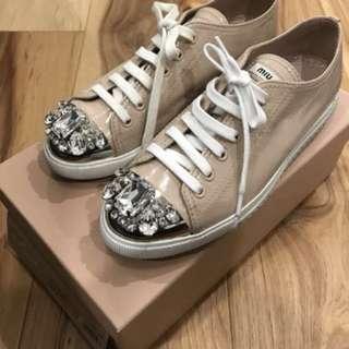 Authentic Miu Miu sneakers 37