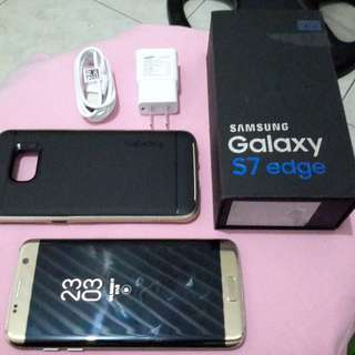 S7 Edge Duos Gold (Brand New Condition)