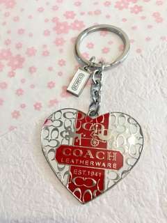 Coach 時款鎖匙扣