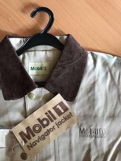 Mobil 1 Navigation Vintage Airman's Racing Jacket