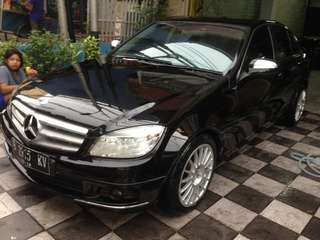 Mercy c200 kompressor th 2008 tgn 1 dr baru