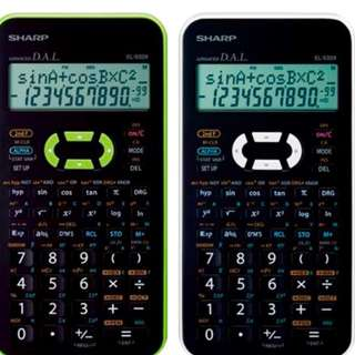 SHARP Scientific Calculator EL-533X