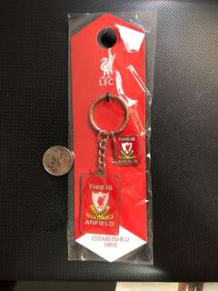 Liverpool Tia Keyring and Badge set