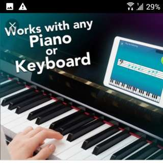 Simply Piano online account