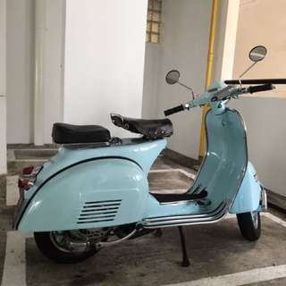 Charming Vintage Vespa Sprint for Sale