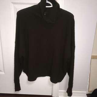 TOPSHOP Dark Green Sweater