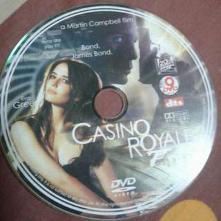 DVD  ENGLISH MOVIE  Casino royale After receiving a license to kill, British Secret Service agent James Bond (Daniel Craig) heads