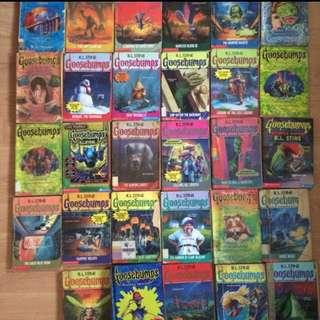Collection Of 29 Goosebumps Book