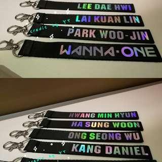 Wanna one strap