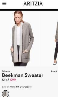 ARITZIA sweater/cardigan