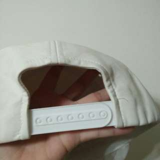 🚚 純白皮革 棒球帽子