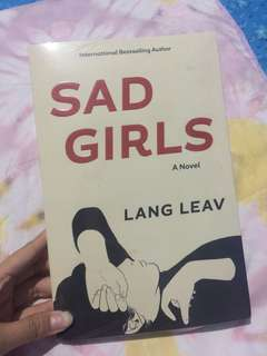 Sad Girls a novel by Lang Leav