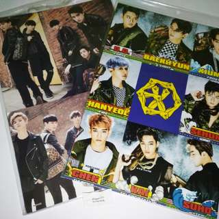 EXO A3 POSTERS