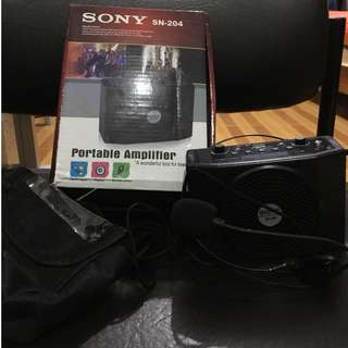 Sony portable amplifier