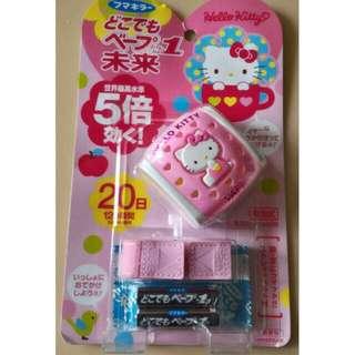 日本代購 預購 日本VAPE 未來 五倍強效 20日驅蚊手錶Kitty