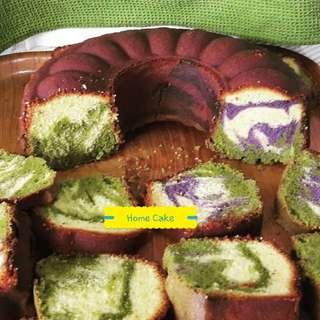 Marmer cake jadul