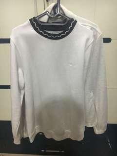 Stussy white sweater Size S