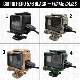 GoPro Frame Case for Hero 5 / 6 Black
