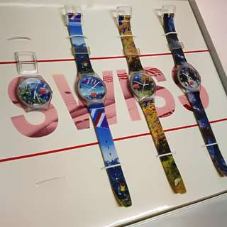 全新 紀念手錶 有盒 swiss cargo souvenir watch