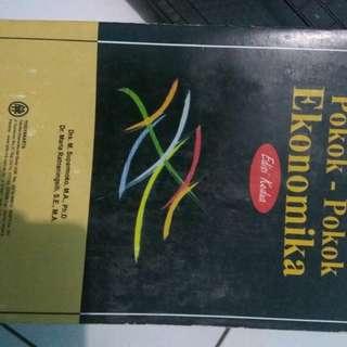 Buku pokok ekonomika  #UBL2018