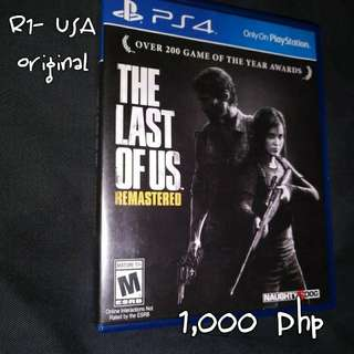 The Last Of Us- Remastered