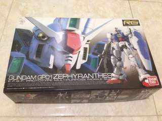 RG Gundam Gp01 Zephyrantes