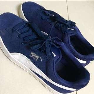 Puma寶藍女鞋(歐洲購入)八成新!