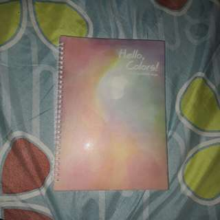 NOTEBOOK PASTEL COLOR